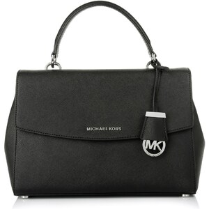 Michael Kors Sacs portés main, Ava MD TH Satchel Black en noir