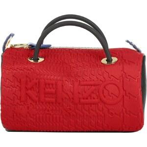 Kenzo Sacs à Bandoulière, Runway Shoulder Bag Medium Red en rouge, gris, noir