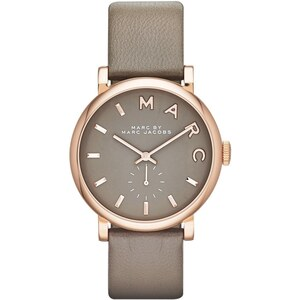 Marc Jacobs Montres, Baker Strap Watch Grey en gris