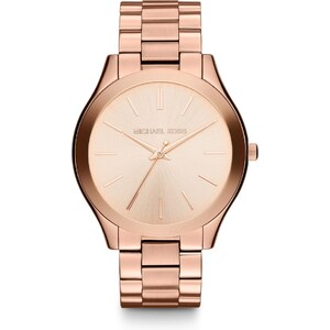 Michael Kors Montres, Runway Rose Gold-Tone Watch en rose pâle