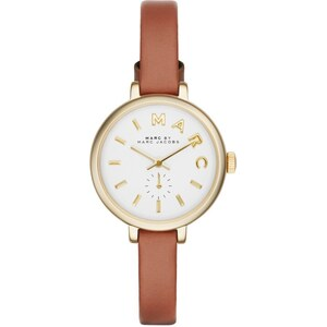 Marc Jacobs Montres, Sally Ladies Watch Cognac/Gold en cognac, or