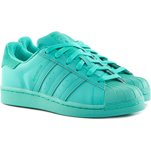 ADIDAS Superstar Adicolor Damen Sneaker Grün