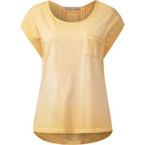 Cecil Shirt mit Rückeneinsatz - smooth rayon yellow, Herren