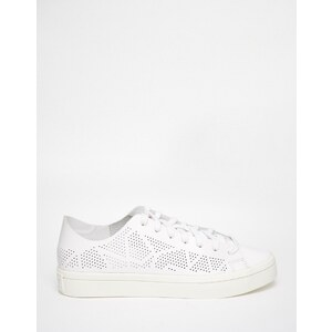 Adidas Originals - Court Vantage - Baskets avec perforations - Blanc