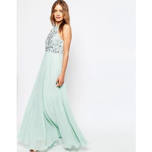 ASOS - Armour - Cutaway-Maxikleid - Mint