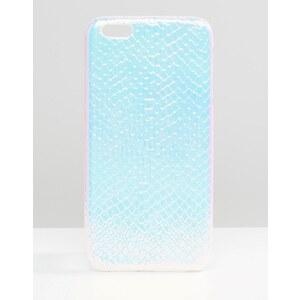 ASOS - Coque motif hologramme effet serpent pour iPhone 6S Plus - Multi