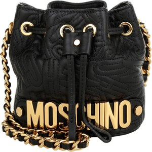Moschino Tasche - Mini Bucket Bag Black - in schwarz - Umhängetasche für Damen