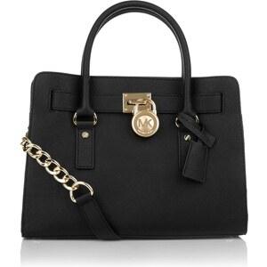 Michael Kors Tasche - Hamilton EW Satchel Black - in schwarz - Henkeltasche für Damen