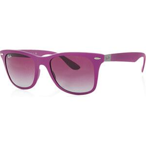 Ray-Ban Sonnenbrille - RB 0Rb 4195 52 60874Q Purple Tech Liteforce - in lila aus Kunststoff - Sonnenbrille für Damen