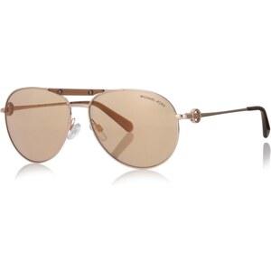 Michael Kors Sonnenbrille - MK 0Mk 5001 58 1003R1 - in gold aus Metall - Sonnenbrille für Damen