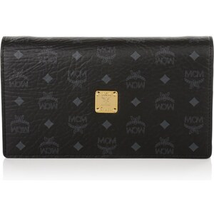 MCM Tasche - Color Visetos X-Body Wallet Black - in silber, schwarz - Umhängetasche für Damen