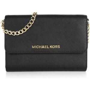 Michael Kors Tasche - Jet Set Travel LG Phone Crossbody Black - in schwarz - Umhängetasche für Damen