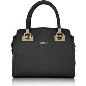 LIU JO Tasche - Anna Bauletto Boston Bag M Nero - in schwarz - Henkeltasche für Damen