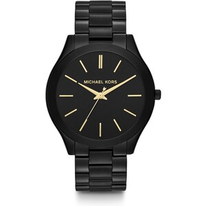 Michael Kors Armbanduhr - Slim Runway Ladies Watch Black - in schwarz - Armbanduhr für Damen