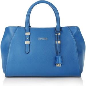 Guess Tasche - Sissi Box Satchel Blue - in blau - Henkeltasche für Damen