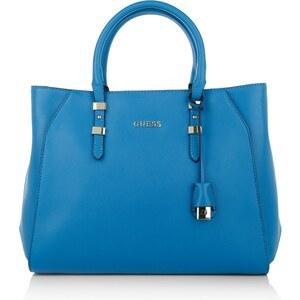 Guess Tasche - Sissi Satchel Blue - in blau - Henkeltasche für Damen