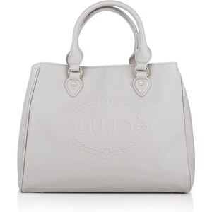 LIU JO Tasche - Bauletto M Corallo Boston Bag Cement - in grau - Henkeltasche für Damen