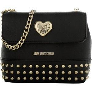 Love Moschino Tasche - Borsa New Thick PVC Nero - in schwarz - Umhängetasche für Damen