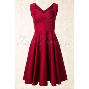 Trashy Diva 50s Honey Swing Dress in Red