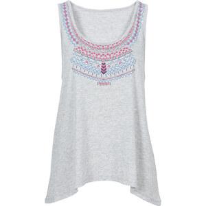 RAINBOW Top ohne Ärmel in grau für Damen von bonprix