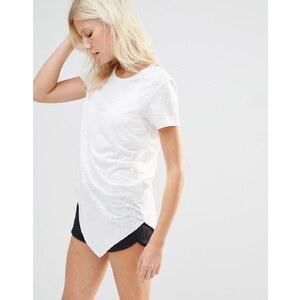 Y.A.S - Lism - Top asymétrique - Blanc