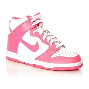 Nike Dunk High (GS) - High Sneakers - rosa