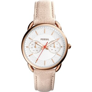 Fossil Montres, Ladies Tailor Wristwatch Roseor en rose pâle
