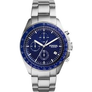 Fossil Montres, Gent Sport 54 Wristwatch Chromo en argent