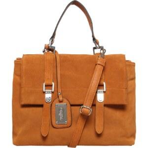BUFFALO Handtasche aus Veloursleder