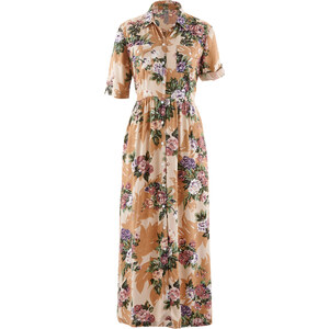 bpc selection Hemdblusenkleid/Sommerkleid in grau von bonprix