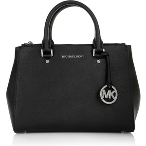 Michael Kors Tasche - Sutton MD Satchel Black - in schwarz - Henkeltasche für Damen
