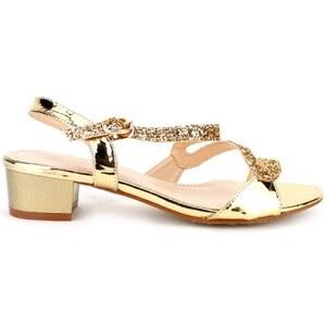 Sandale vernie Dorée LIANA - Cendriyon