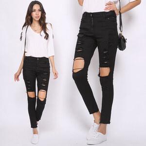 Lesara Jeans slim effet destroyed