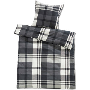 bpc living Linge de lit Curt F, linon noir maison - bonprix