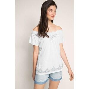 Edc by Esprit EDC Carmen-Shirt aus Baumwolle/Modal