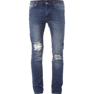 Cheap Monday Slim Fit Jeans im Destroyed Look