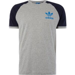 adidas Originals T-Shirt mit Kontrast-Raglanärmeln