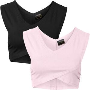 RAINBOW Top (2er-Pack) ohne Ärmel in lila für Damen von bonprix