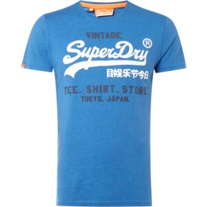 Superdry T-Shirt mit gummiertem Logo-Print