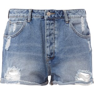 REVIEW 5-Pocket-Jeansshorts im Destroyed Look