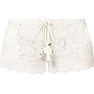 REVIEW Shorts aus floraler Häkelspitze