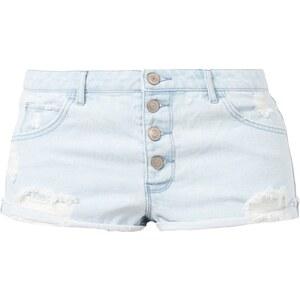 REVIEW Sami Slimani 5-Pocket-Jeansshorts im Destroyed Look