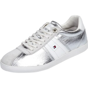 Tommy Hilfiger Sneaker in Metallicoptik
