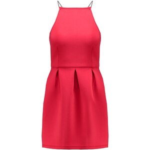 Missguided Jerseykleid red