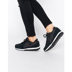 Nike - MD - Baskets de course à pied - Noir et blanc - Noir
