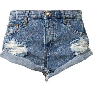 One Teaspoon HUNTER BANDITS Jeans Shorts hunter