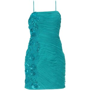 Faust Robe cocktail - turquoise