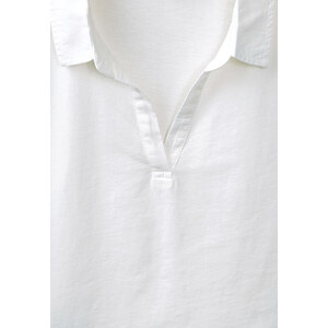 Street One - Polo oil-washed Paolina - star blanc