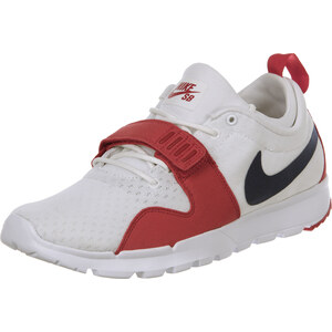 Nike Sb Trainerendor chaussures white/obsidian/red