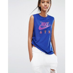 Nike X - Steve Harrington - Débardeur moulant - Bleu
